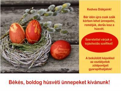 Húsvét - tojásfestés