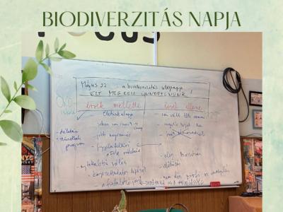 Biodiverzitás napja - 2021. május 22.