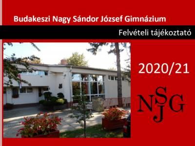 Felvételi eljárás a 2021/2022-es tanévre