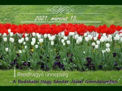 Március 15. - Nemzeti ünnep