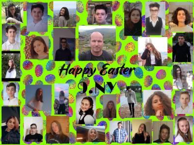 Húsvéti tabló - 9Ny