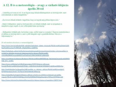12.B - meteorológiai világnap